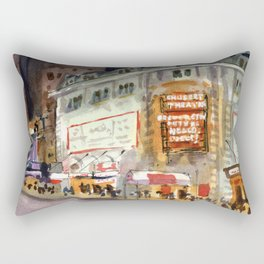 Shubert Theatre Hello Dolly Marquee Rectangular Pillow