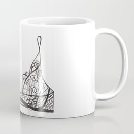 Black bralette Coffee Mug