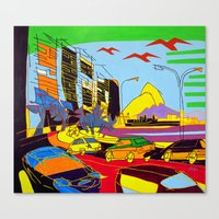 brazil Canvas Prints featuring Brazil by J.Victtor