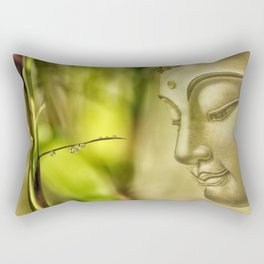 Buddha (3) Rectangular Pillow