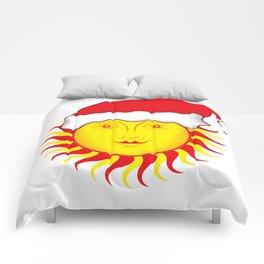 Sun: Merry Christmas Comforters