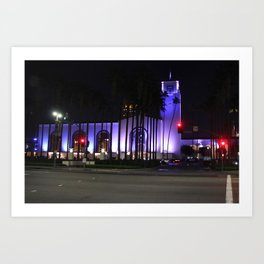 Los Angeles Union Station 1 Art Print