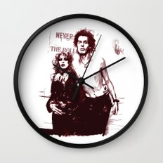 Sid and Nancy Wall Clock