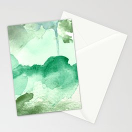 Meadow Pool Abstract Stationery Cards