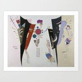 Reciprocal accord - V. Kandinsky Art Print