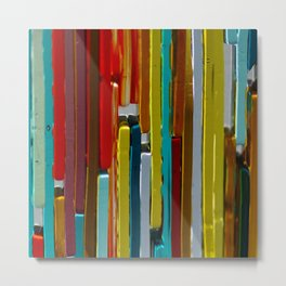 Transpire Glass Metal Print