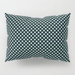 Black and Limpet Shell Polka Dots Pillow Sham