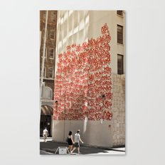 Graffiti on Abercrombie 03 Canvas Print