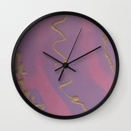 Spinning Violet Flame Wall Clock
