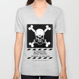 Cyber Pirate Unisex V-Neck