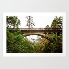Over or Under Art Print