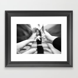 Don't go Framed Art Print
