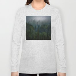 I dream in evergreen Long Sleeve T-shirt