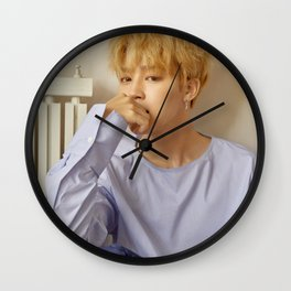 Jimin Wall Clock