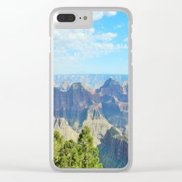 Grand Canyon Northern Rim Clear iPhone Case