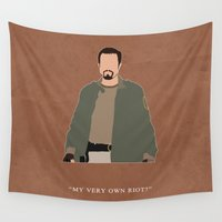 firefly Wall Tapestries featuring Firefly - Jayne by MacGuffin Designs