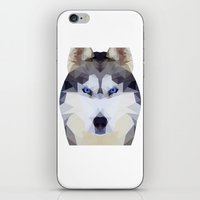 husky iPhone & iPod Skins featuring Husky by Nillous