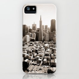 The View from Coit iPhone Case