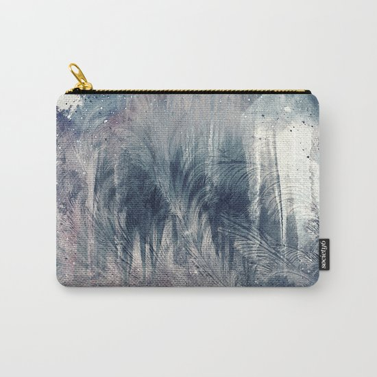 Dream in Grey Carry-All Pouch