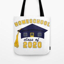Homeschool Class of 2020 Tote Bag
