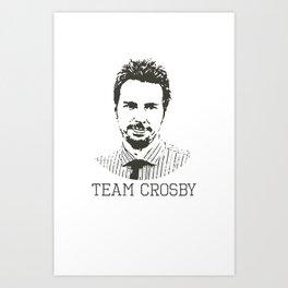 Team Crosby Art Print