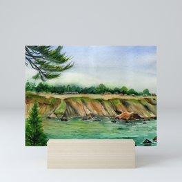 Whitesboro Cove, Albion, Mendocino County, CA Mini Art Print