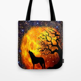 WOLF ENCOUNTER #1 Tote Bag