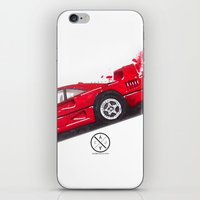 ferrari iPhone & iPod Skins featuring Ferrari F40  by Claeys Jelle Automotive Artwork