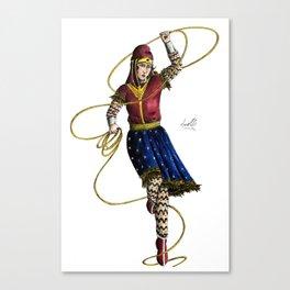 Scythian Woman of Wonder Canvas Print