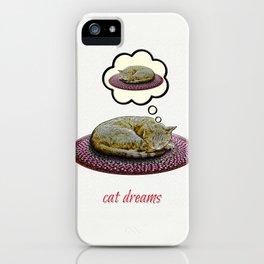Cat Dreams iPhone Case