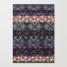 Russian style inspired Aztec Canvas Print
