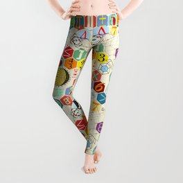 Math in color Leggings