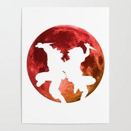 Anime Moon Inspired Shirt Poster