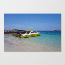 Gili T Beach #3 Canvas Print