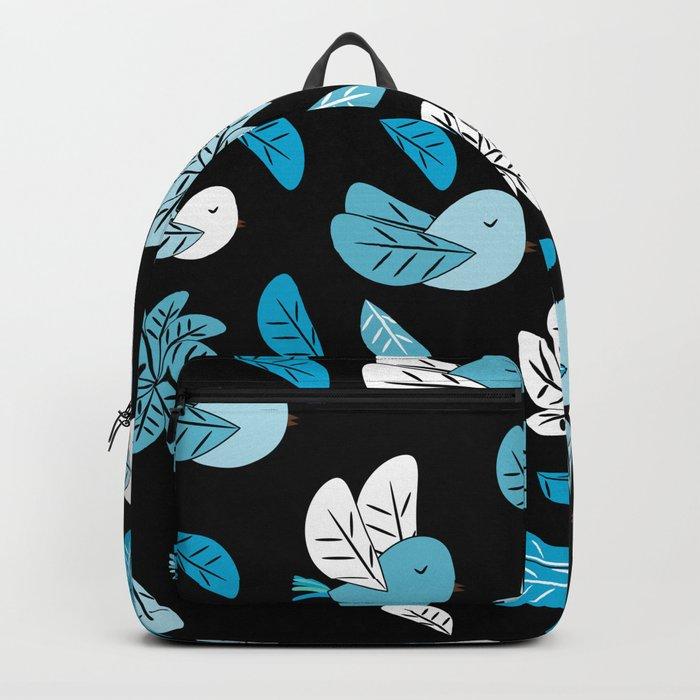 Birds at night Backpack