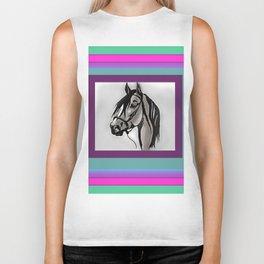 Horse 3 WIP Biker Tank