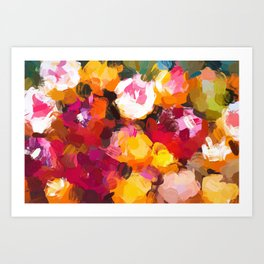 Delicious Floral Art Print