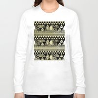 ethnic Long Sleeve T-shirts featuring Ethnic Chic by Louise Machado