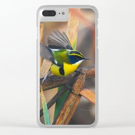 The world of the many-colored rush-tyrant Clear iPhone Case