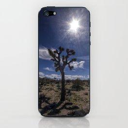 Joshua Tree and Sunshine in Joshua Tree National Park California iPhone Skin