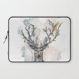 Cobweb Deer Laptop Sleeve