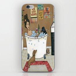 Wieners in the Tub iPhone Skin
