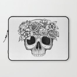 Flowerskull Laptop Sleeve