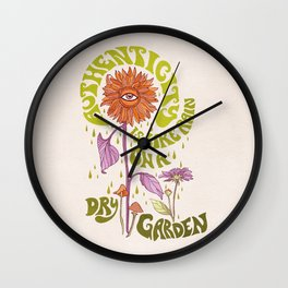 AUTHENTICITY GARDEN Wall Clock