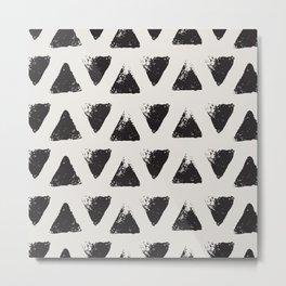 Triangle Pattern I Metal Print