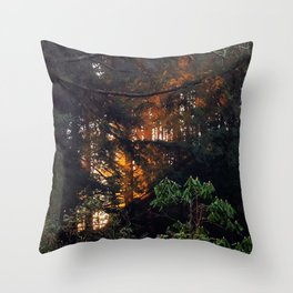 Hunting The Sunrise Throw Pillow