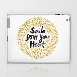 Smile From Your Heart Laptop & iPad Skin