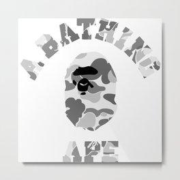 a bathing ape Metal Print