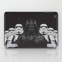 animal crew iPad Cases featuring The crew by Roland Banrevi