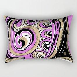 Helm - Battle Rectangular Pillow